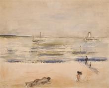 Alice Frey (1895-1981)La plage