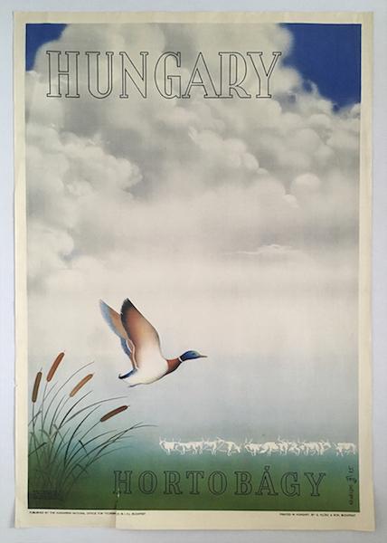 Hungary - Hortobagy travel poster 1935