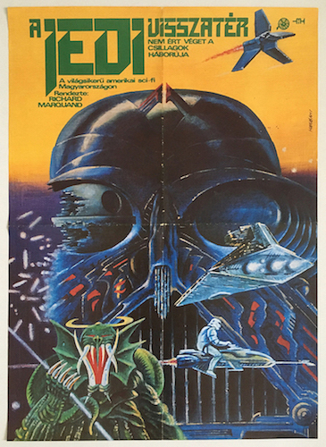 Star Wars: Return of the Jedi movie poster 1984