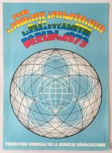 For the anti-Imperialist solidarity political propaganda poster 1973