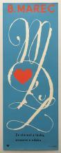 8th of March Czechoslovakian political propaganda a poster 1981