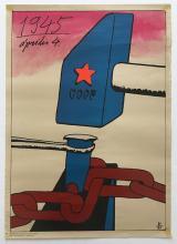 1945 April 4 - CCCP propaganda poster 1979