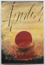 April 4 propaganda poster 1981