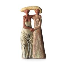 Stig Lindberg, A stoneware sculpture