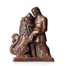 Gunnar Nylund, A stoneware sculpture of