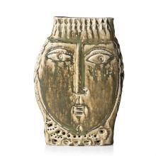 Hertha Hillfon, A stoneware sculpture, Sweden 1950's.
