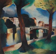 Waldemar Lorentzon, City view