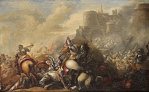 JACQUES COURTOIS (le Bourguignon) Bataljsccen