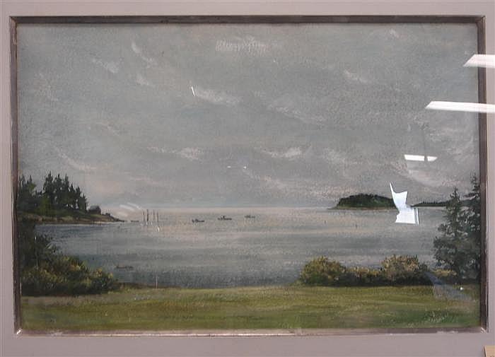 John W. McCoy American 1910-1989 Wheeler Bay