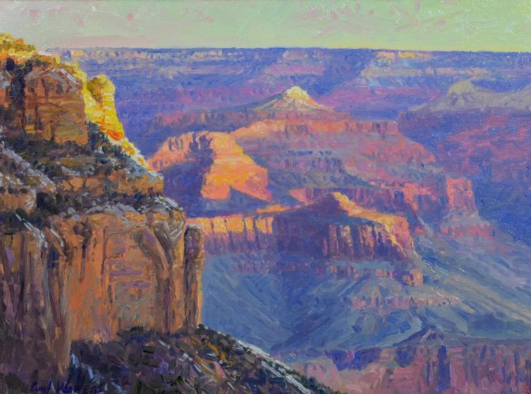 Curt Walters (b 1950), Grand Canyon landscape painting