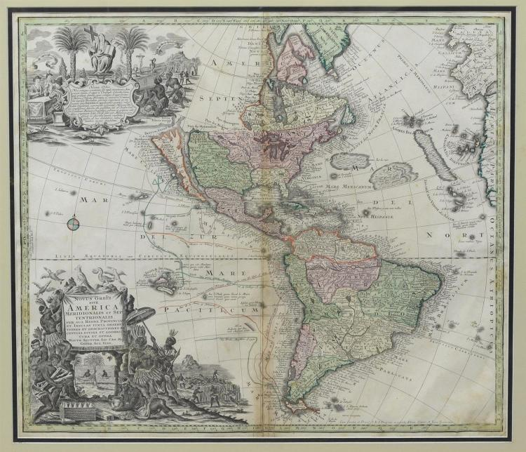 Seutter, Matthaeus, 1678-1756, 1744 Map: