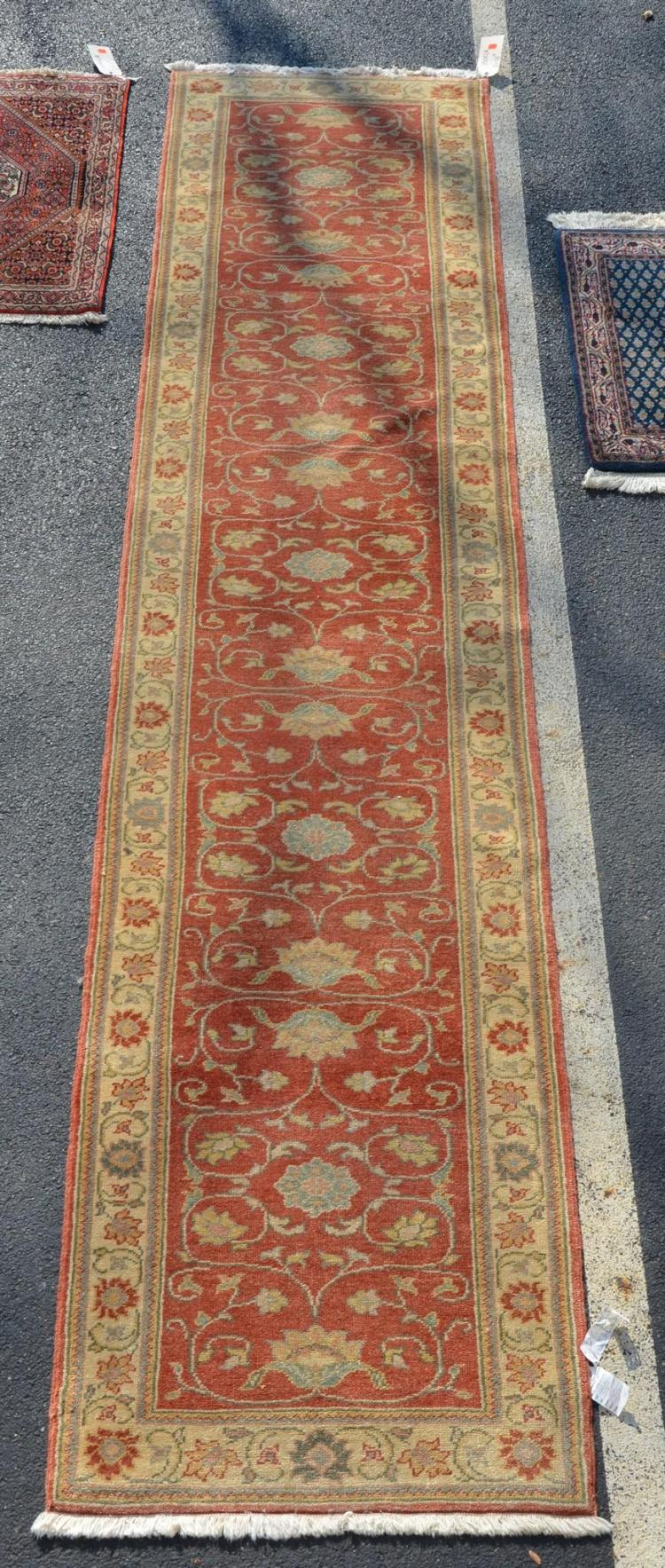Turkish runner rug, 3'' x 12''10