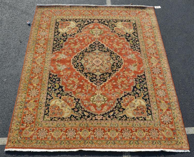 Indo-Tabriz rug, 8''2