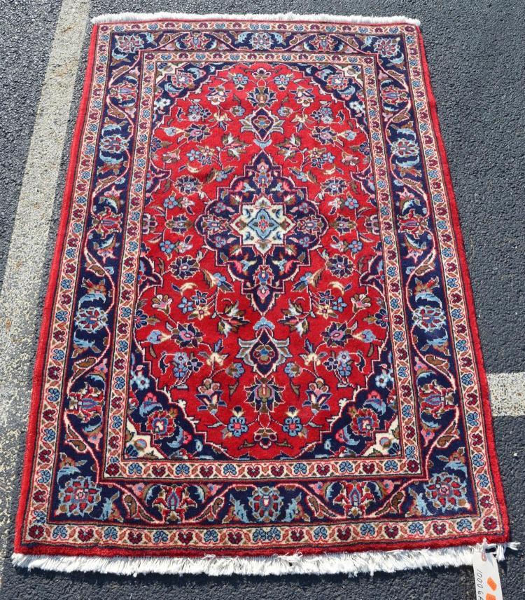 Indo-Persian mat rug, 3''3
