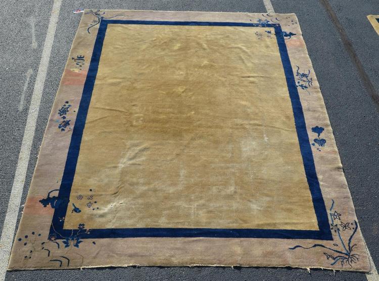 Chinese rug, 9'' x 11''6