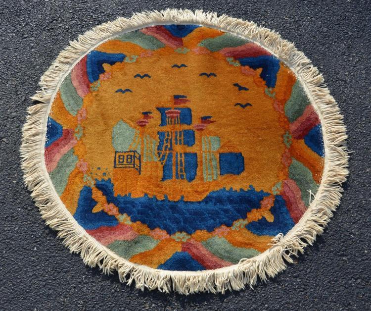 Chinese rug, 2''5