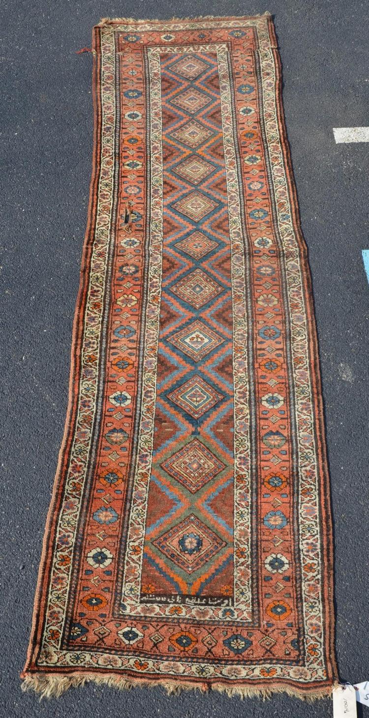 Caucasian runner rug, 3'' x 10''11