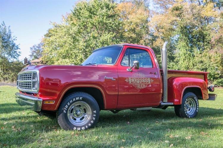 1979 Dodge L''il Red Express Truck; This truck was purchased by the current owner in 2001, specifications are as followed: 360 ci eng..