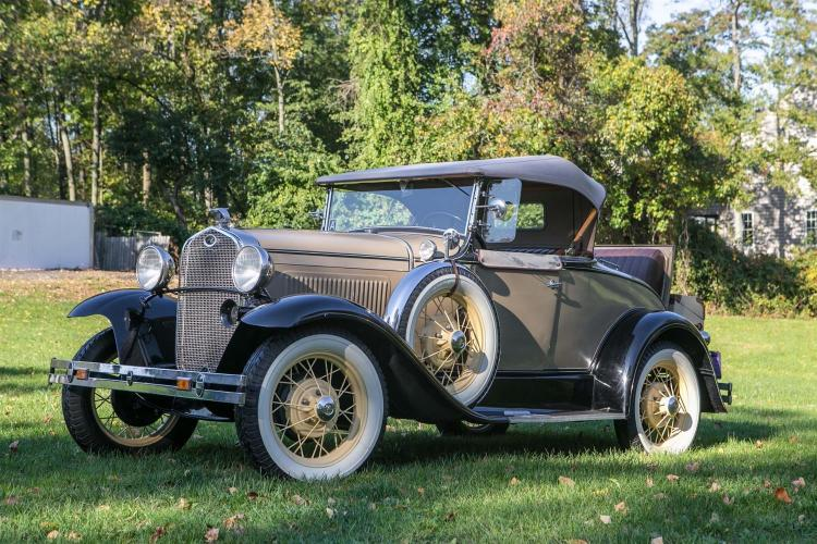1931 Ford Model A Roadster; Restored in 2009, winner of many show trophies!! There are only 534 miles on the vehicle
