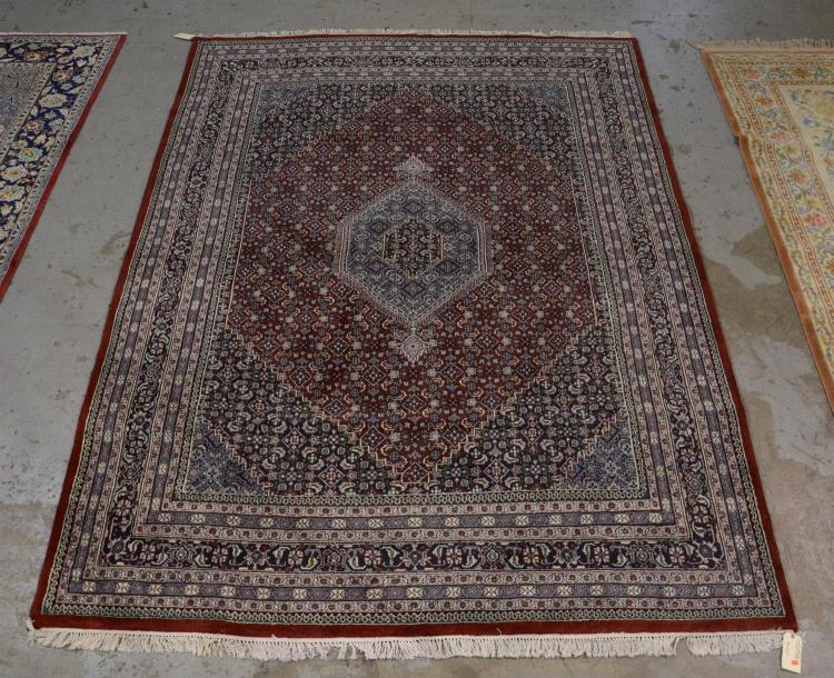 Hand made indian oriental style rug 9 39 39 x 12 39 39 1 for Home inspired by india rug
