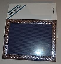 2 sterling silver picture frames, new in box, for 8 x 10 photos