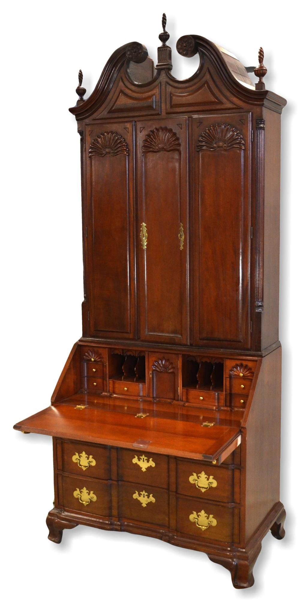 Harden Furniture Yale Reproduction Newport Chippendale Mahog