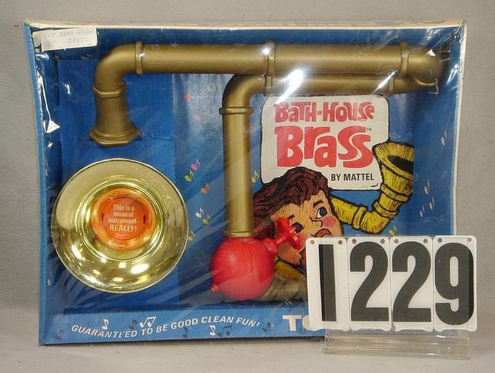 1967 Bath House Brass Kit made by Mattel