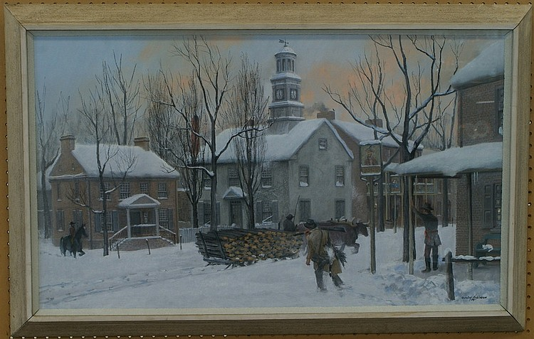 Barclay Lawrence Jacob Rubincam, American, Chester County, PA, 1920-1978,