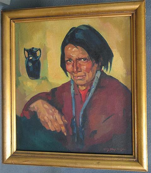Hans Paap, German-American, 1894 -1966, 20 1/4