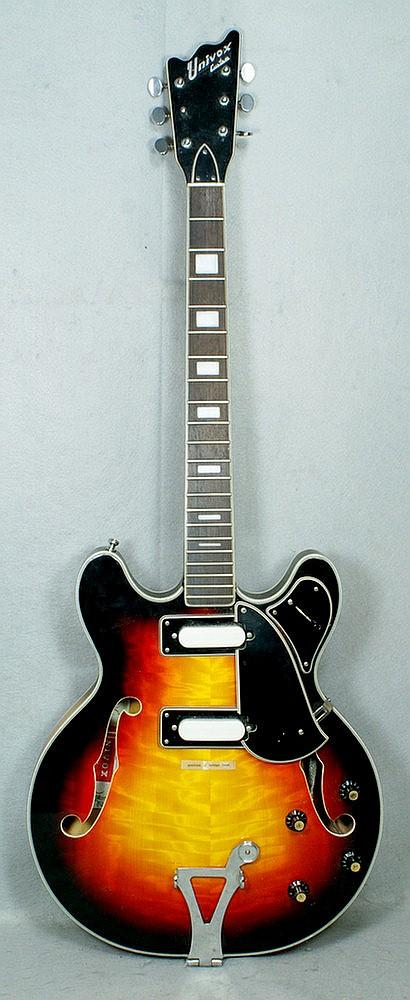 Guitars numbers univox serial Serial NO.