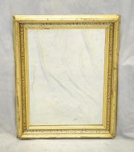 Gilt framed Victorian wall mirror, 28