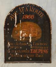 Antique English sign,