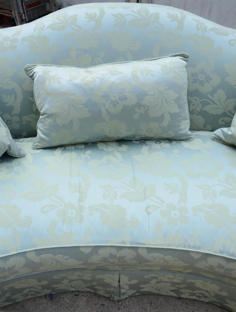 Robb Stucky Upholstered Sofa With 3 Matching Throw Pillows