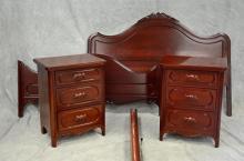 Davis 3-piece bedroom set, bed, 60