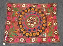 (6) Suzanis, 19th/20th Century, Central Asia, largest one measures:9'2
