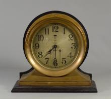 Chelsea brass ships clock, 8
