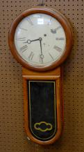 Unsigned weight driven wall clock in the style of a Howard No 11