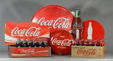 Collection of assorted Coca Cola collectibles to include a 12