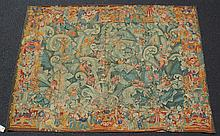 Replica of a 16th century Flanders tapestry, titled