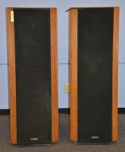 Pair of Infinity Kappa 9 floor speakers, one needs refoaming, 59
