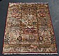 Indo-Tabriz hunt theme carpet, 10' x 12'11
