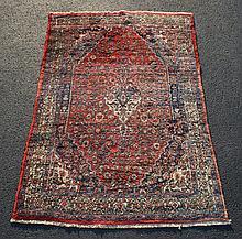 Hamadan Carpet, 4'8