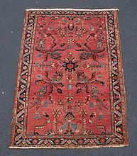 Hamadan Carpet, 4'5