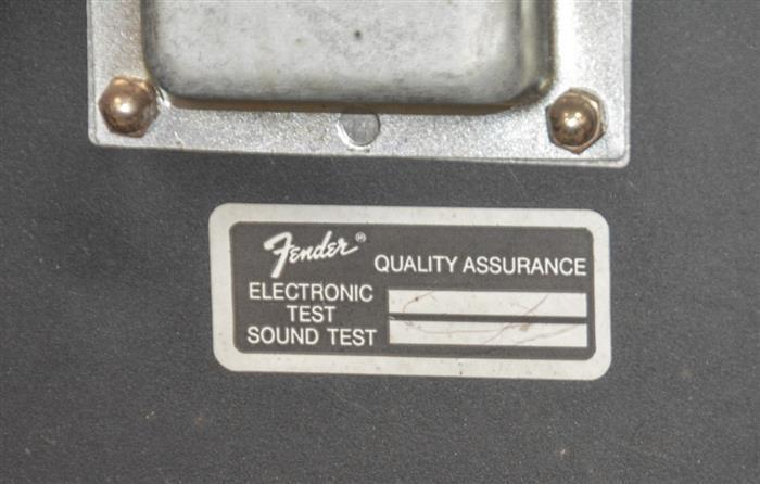 Fender Princeton Chorus amplifier, 125 watts, sn LO-79974, w