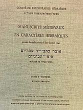 MANUSCRITS MÉDIÉVAUX en caractères Hébraïques port