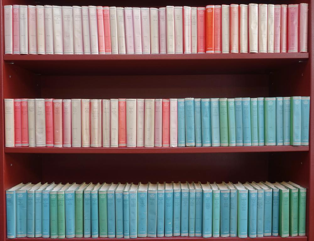 LOEB CLASSICAL LIBRARY. Greek (52) & Latin authors (57). (20th-21st c). 109