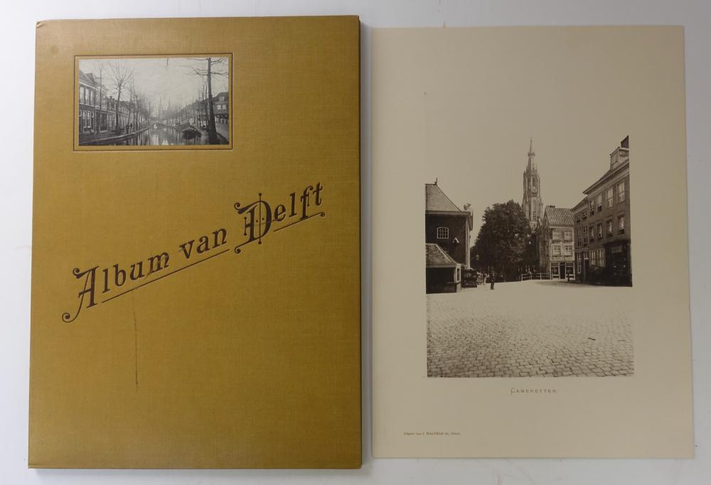 DELFT -- ALBUM VAN DELFT. Delft, Uitgave v. J. Waltman Jr., n.d. (c