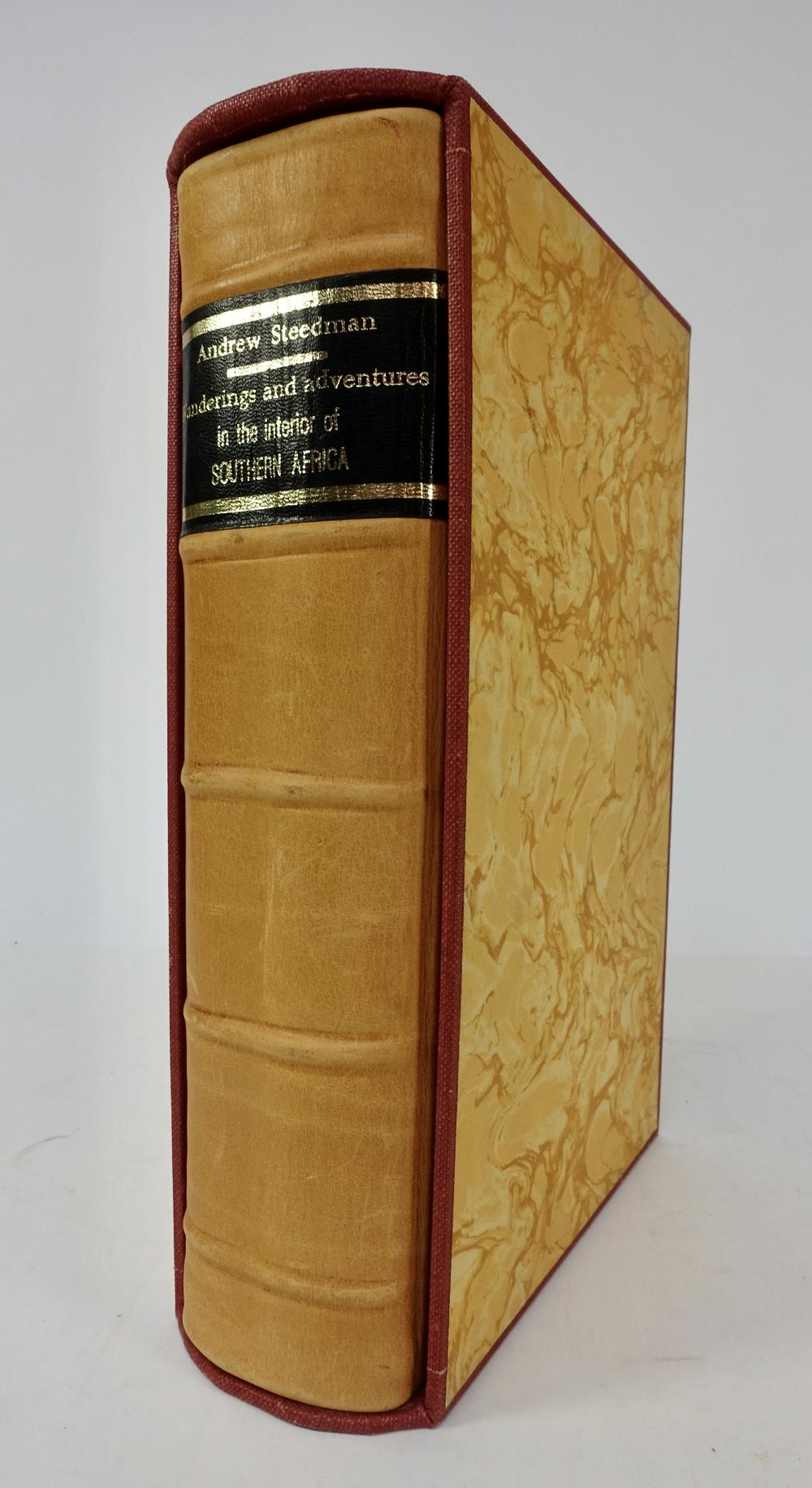 STEEDMAN, A. Wanderings and Adventures in the Interior of Southern Africa. Lond