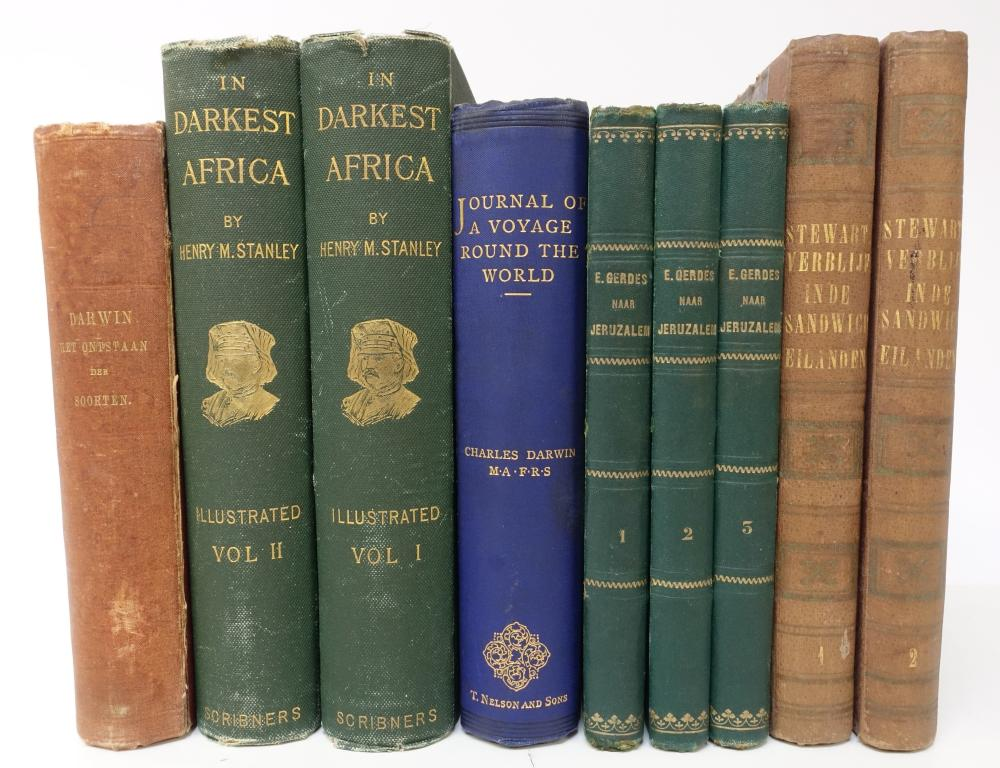 TRAVELLING -- STANLEY, H.M. In darkest Africa or the quest, rescue, and retreat