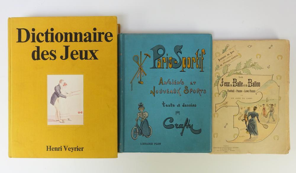 CRAFTY (= V. Gérusez). Paris sportif. Texte et dessins. Par., 1896. Prof. ill
